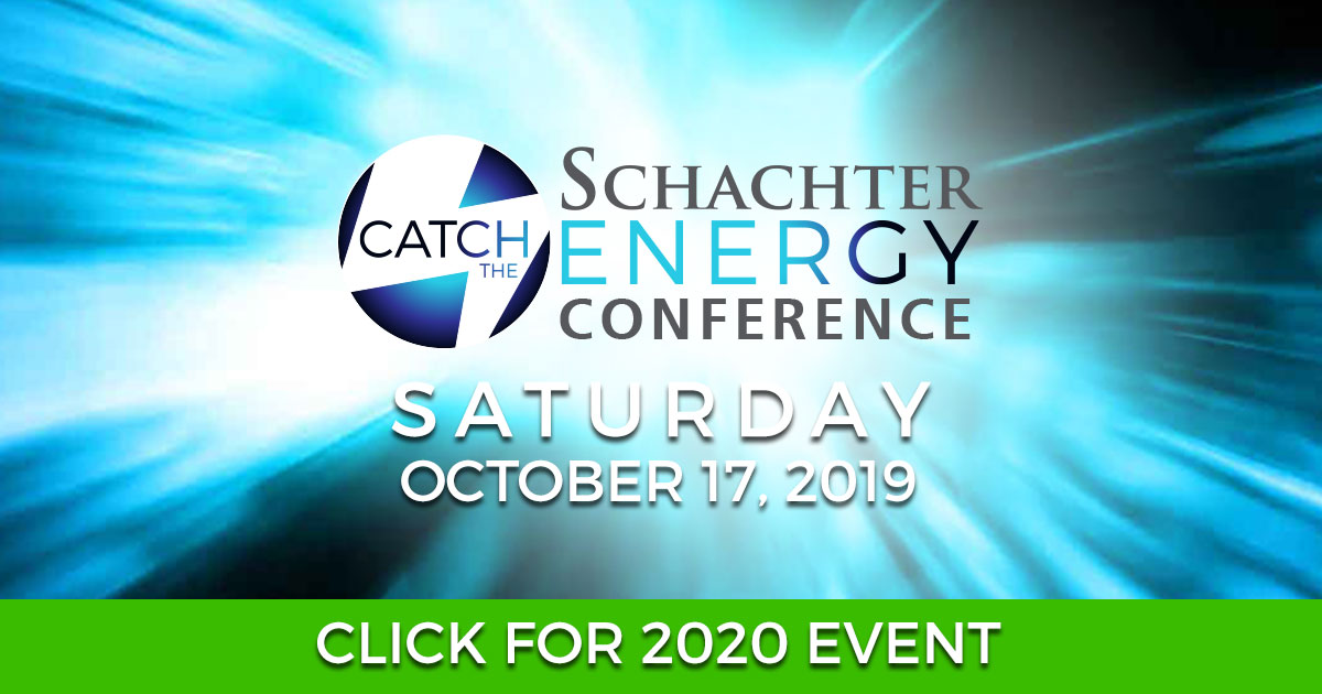 Schachter Energy Conference - Catch the Energy