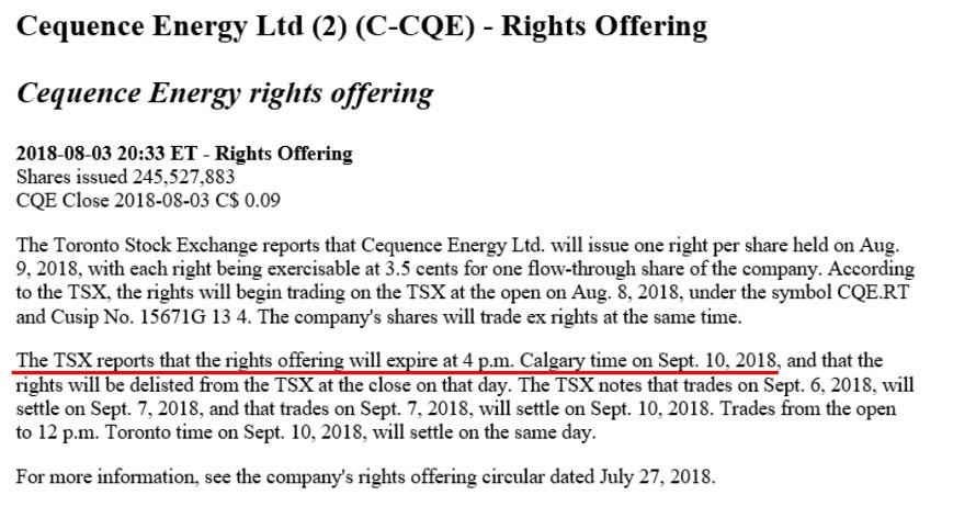 SER August 2018: Company Lists & Q&A